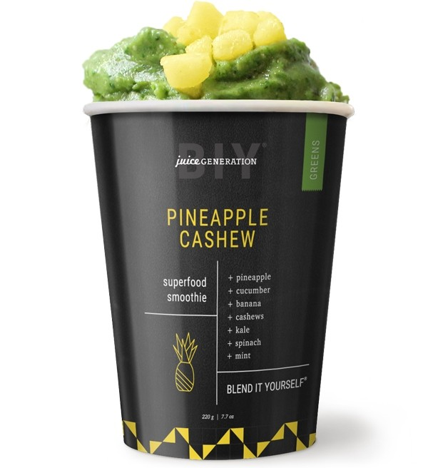 Pineapple Cashew  Superfood Smoothie