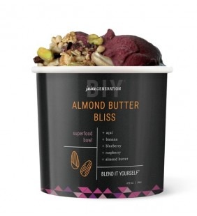Almond Butter Bliss  Superfood Açai Bowl