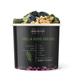 Hella Good Greens  Superfood Açai Bowl