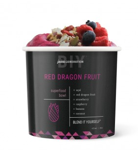 Red Dragon Fruit  Superfood Açai Bowl